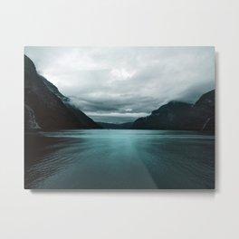 Vikings 02 Landscape Metal Print