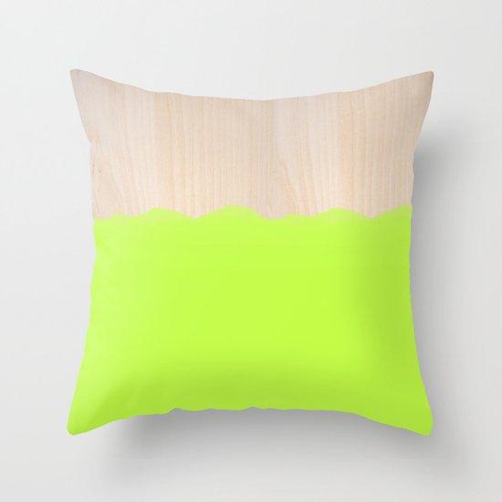 Sorbet II Throw Pillow