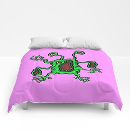 Alien Wiggle Monster - Grouch Comforters