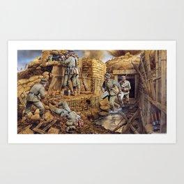 La Guerre Art Print