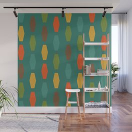Colima - Teal Wall Mural