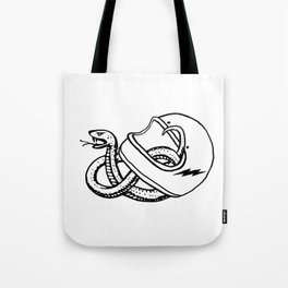 vipera b/w Tote Bag