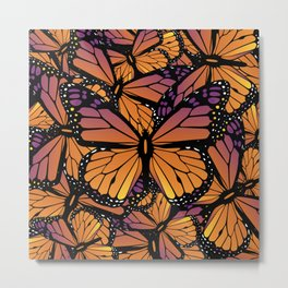 Fields of Monarch Butterflies (Butterfly) Metal Print