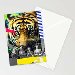 Space Tiger Stationery Cards