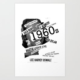 Misanthrope 60's Shirt Art Print