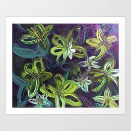 Tropical Greenery Art Print