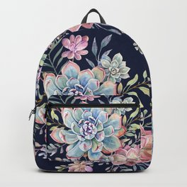 succulent fullmoon 7 Backpack