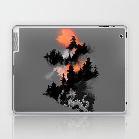 A samurai's life Laptop & iPad Skin
