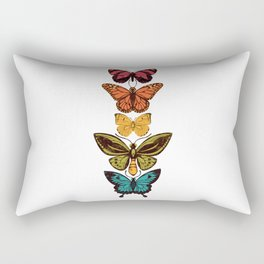 Butterfly Spectrum Rectangular Pillow