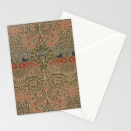 Peacock and Dragon by William Morris 1878, Antique Vintage Wall Hanging Pattern CC0 Spring Summer Stationery Cards