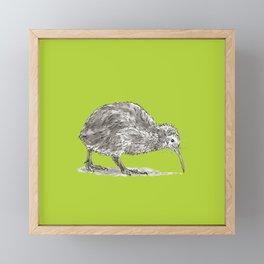 Kiwi Bird Framed Mini Art Print