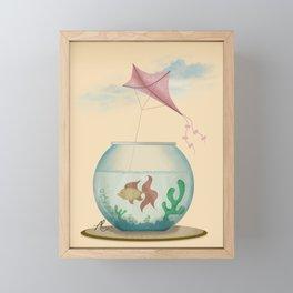 Big Dreams Framed Mini Art Print