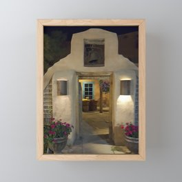 Enchanted Evening in New Mexico Framed Mini Art Print