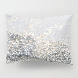 Silver Gray Glitter #2 #shiny #decor #art #society6 Pillow Sham