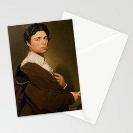 Self portrait at twenty four - Jean-Auguste-Dominique Ingres Stationery Cards