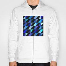 Blue Triangle Pattern (2013) Hoody