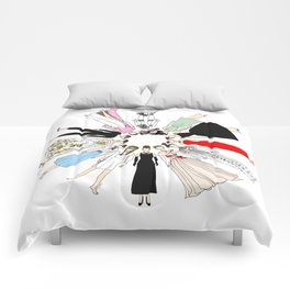 Audrey Hepburn Circle Fashion Comforters
