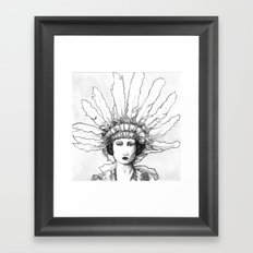 1920s Circus Dancer Framed Art Print