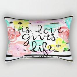 His Love Rectangular Pillow