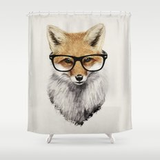 Mr. Fox Shower Curtain
