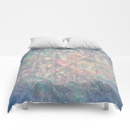 Sparkling Crystal Maze Abstract Comforters