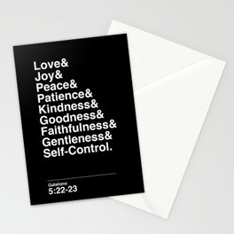 GALATIANS 5:22-23 Stationery Cards