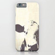 Rustic Cow Slim Case iPhone 6s