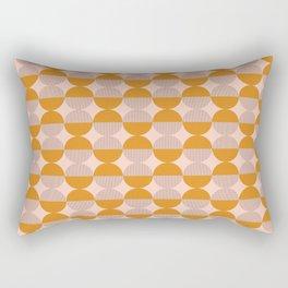 OP Circles - Mustard Rectangular Pillow