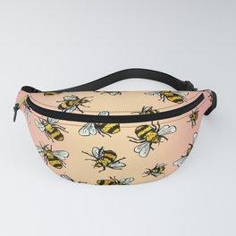 ALL DA BEES (mini) - Rose Gold Fanny Pack