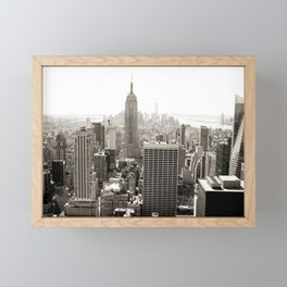 Static Empire Framed Mini Art Print