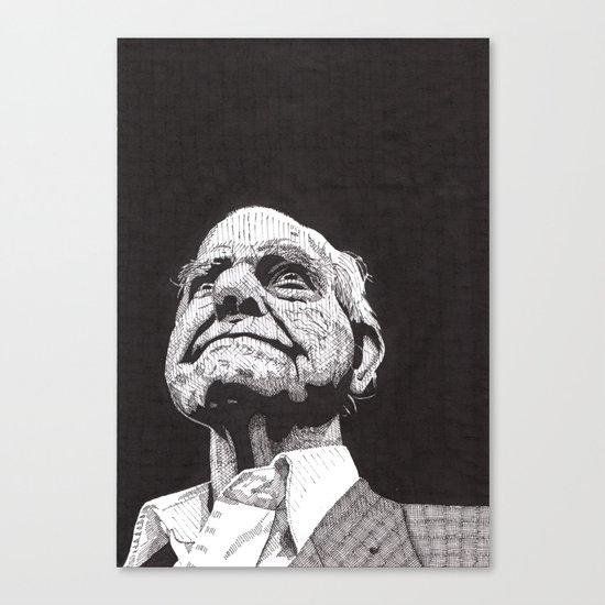 Homeless man5 Canvas Print