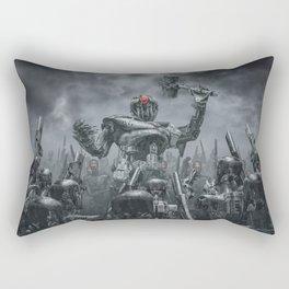Once More Unto The Breach Rectangular Pillow