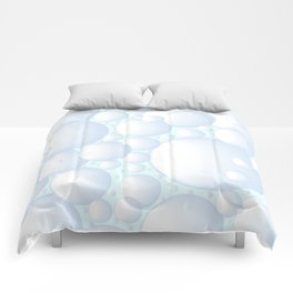 Air Bubbles Comforters