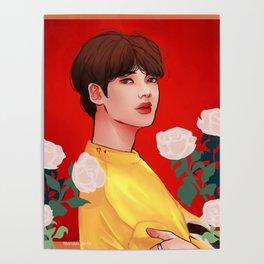 Purple U: Jin Poster