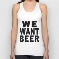 beer Tank Tops featuring Beer by Meche A
