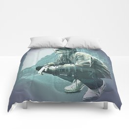 Falco on the Street Comforters
