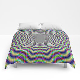 Psychedelic Web Star Comforters