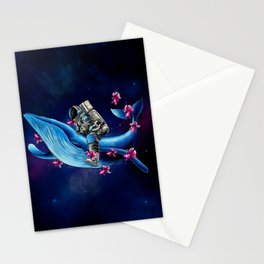 Space Wanderer Stationery Cards