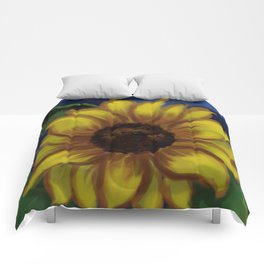 Dramatic Sunflower DP141118a Comforters