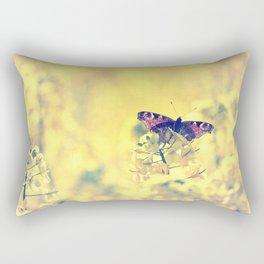 Sunshine and Butterflies Rectangular Pillow