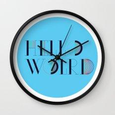 Hello World   Comp Sci Series Wall Clock