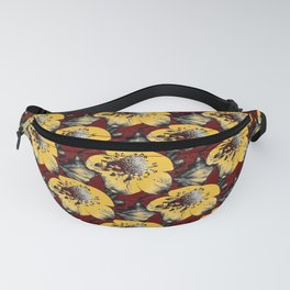 Fake Field of Flowers Fanny Pack
