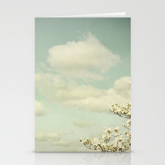 Feeling Lighter Than Air Stationery Cards