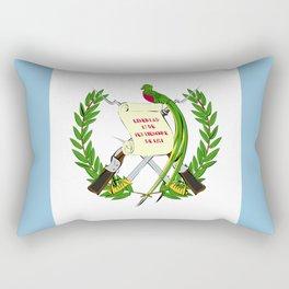 Guatemala flag emblem Rectangular Pillow