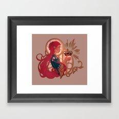 Enby royalty Framed Art Print