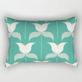 Adelaide Modern Holland in Seafoam Rectangular Pillow