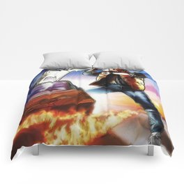 Back To The Future -Ink n Painted Comforters