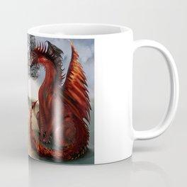 The Owl,Wizard,Unicorn and the Dragon Coffee Mug