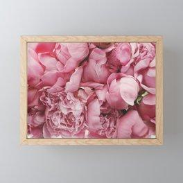 Pink Floral Framed Mini Art Print