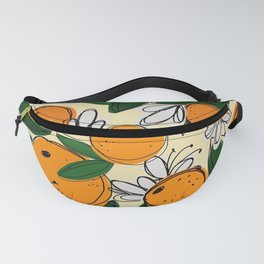 Oranges in Bloom Fanny Pack